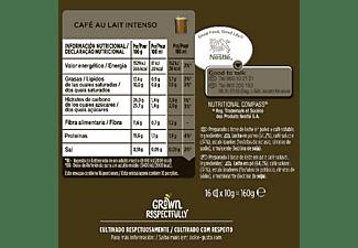 Cápsulas monodosis - Nescafé Dolce Gusto café con leche intenso, pack de 16 cápsulas para 16 tazas