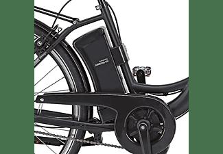 PROPHETE Alu-City Citybike (Laufradgröße: 28 Zoll, Unisex-Rad, Schwarz matt)