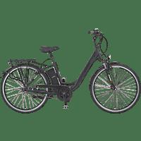 PROPHETE Alu-City Citybike (28 Zoll, 46 cm, CUBUS, Schwarz matt)