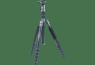 VANGUARD VEO2GO 265 HAB Stativ Dreibein Fotostativ, Schwarz, Höhe offen bis 1640 mm