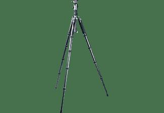 VANGUARD VEO2GO 265 AB Stativ Dreibein Fotostativ, Schwarz, Höhe offen bis 1430 mm