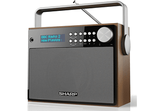 SHARP DR-P350, Tragbares DAB+/ Digital Radio