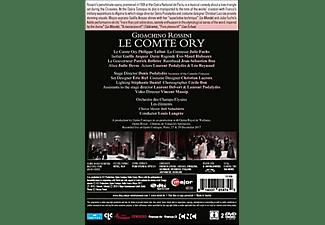 Philippe Talbot, Julie Fuchs, Éve-Maud Hubeaux, Patrick Bolleire, Jean-Sébastien Bou, Jodie Devos, Laurent Podalydès, Léo Reynaud, Gaelle Arquez, Orchestre Des Champs-elysees - Le Comte Ory  - (DVD)