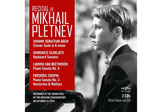 Mikhail Pletnev - Recital of Mikhail Pletnev  - (CD)