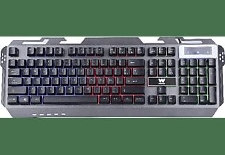 Pack Gaming - Woxter Stinger FX80 Megakit, Teclado + Auriculares + Ratón + Alfombrilla