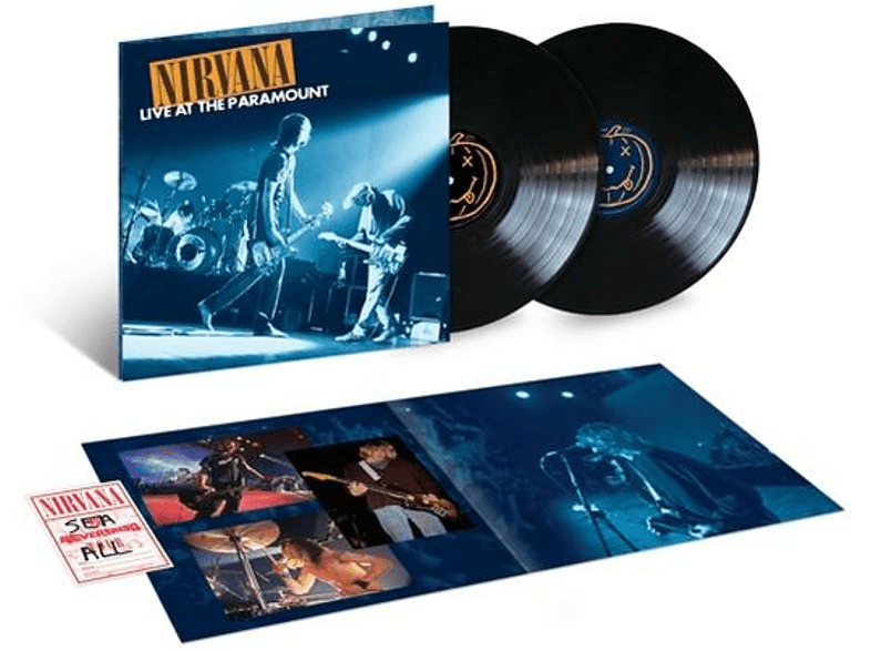 Nirvana - Live At The Paramount (2LP) [Vinyl]