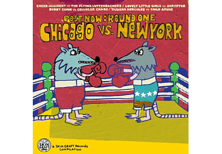 VARIOUS - POST NOW: ROUND ONE - CHICAGO VS NEW YORK  - (CD)