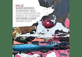 JAMES PLATES / SIR MARK ELDER - Schostakowitsch Sinfonie 5  - (CD)