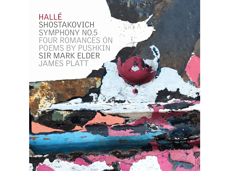 JAMES PLATES / SIR MARK ELDER - Schostakowitsch Sinfonie 5 [CD]