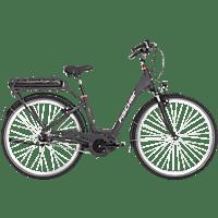 FISCHER - FAHRRAD City 7-G ECU 1820-R1 Citybike (26 Zoll, 44 cm, Tiefeinstieg, 422 Wh, Dunkel-anthrazit matt)
