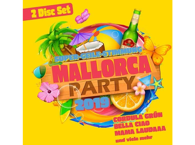 VARIOUS - Mallorca Party 2019 [CD]