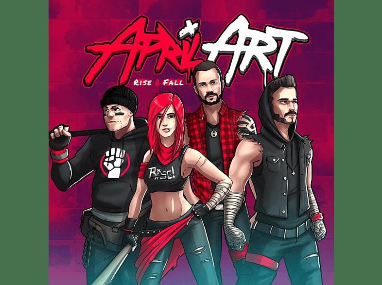 April Art - Rise & Fall [CD]