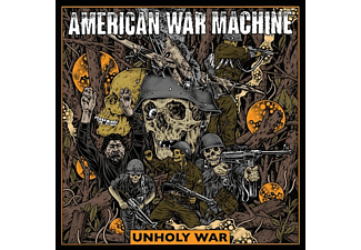 American War Machine - Unholy War (Lim Gray Vinyl) - (Vinyl)