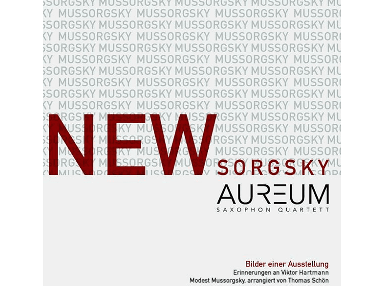 Aureum Saxophon Quartett - Newsorgsky [CD]
