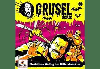 Gruselserie - 003/Moskitos-Anflug der Killer-Insekten  - (CD)