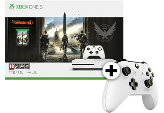 MICROSOFT Set Xbox One S 1TB The Division 2 μαζί με Wireless Controller - White C (TF5-00004)