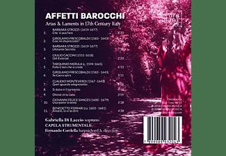 Gabriella Di Laccio, Capela Strumentale, Fernando Cordella - Arias and Laments in 17th Century Italy  - (CD)