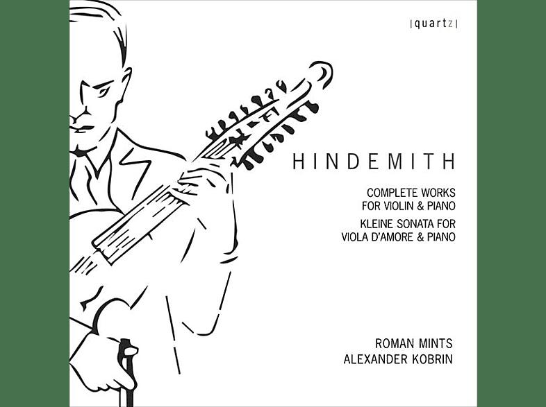 Roman Mints, Alexander Kobrin - Sämtliche Werke für Violine und Klavier [CD]