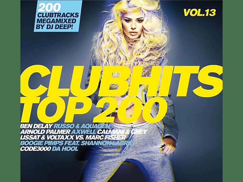 VARIOUS - Clubhits Top 200 Vol.13 [CD]