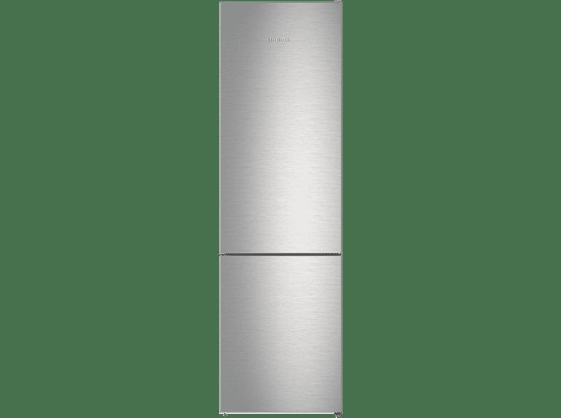 LIEBHERR CNPef 4813  Kühlgefrierkombination (A+++, 167 kWh/Jahr, 2011 mm hoch, Edelstahl/Silber)
