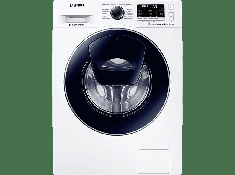 SAMSUNG WW80K52A0VW/EG  Waschmaschine (8 kg, 1200 U/Min., A+++)