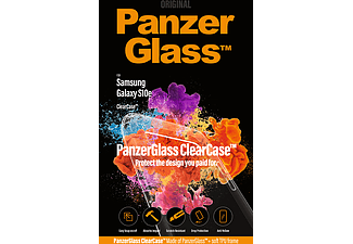 PANZERGLASS Samsung Galaxy S10e Transparant Easy Snap on/off