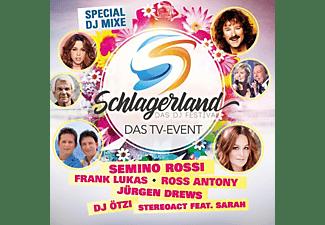 VARIOUS - Schlagerland-Das DJ Festival  - (CD)