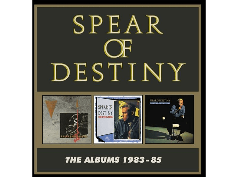 Spear Of Destiny - The Albums 1983-85 (3CD Box Set) [CD]