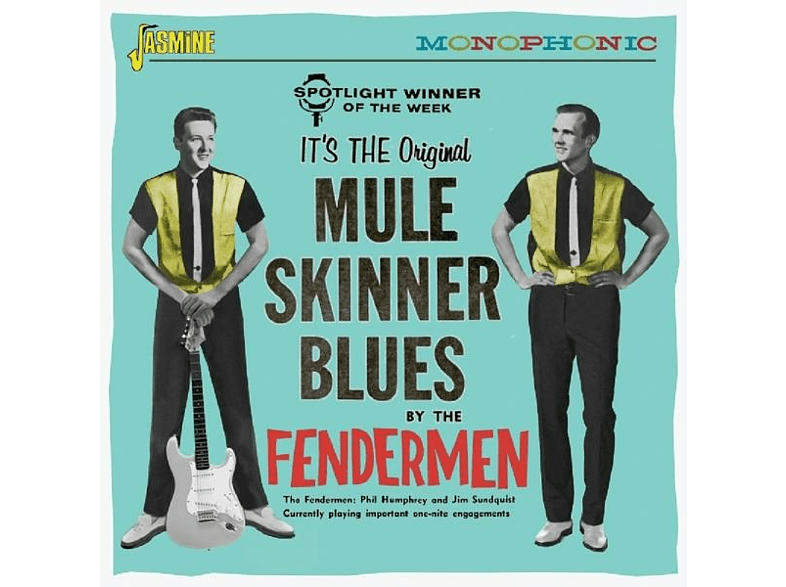 Fendermen - Mule Skinner Blues [CD]