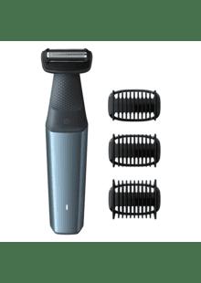 Remington BHT 2000 A Body Hair Trimmer Körperrasierer Akkubetrieb silber//schwarz