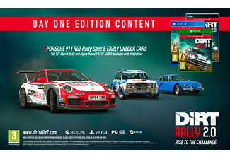 DiRT Rally Day One Edition 2.0 FR/NL Xbox One