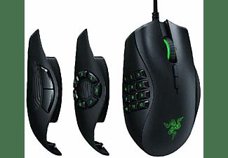 Ratón gaming - Razer Naga Trinity, 16000DPI, USB, Óptico, 19 botones personalizables, Negro y verde