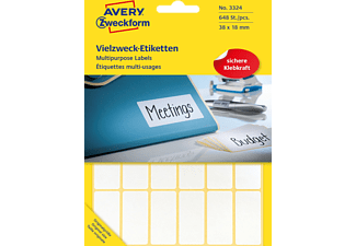 AVERY ZWECKFORM 3324, Mini-Organisations-Etiketten