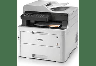 Impresora Multifunción Láser Color - Brother MFC-L3750CDW, 24 ppm, Doble cara, Wi-Fi
