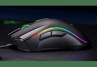 Ratón gaming - Razer Mamba Elite, 16,000 ppp, 5G, Chroma, 9 botones programables, RGB, Negro