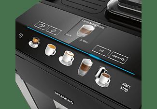 SIEMENS TQ505D09 EQ.500 integral Kaffeevollautomat Saphirschwarz metallic/Klavierlack Schwarz