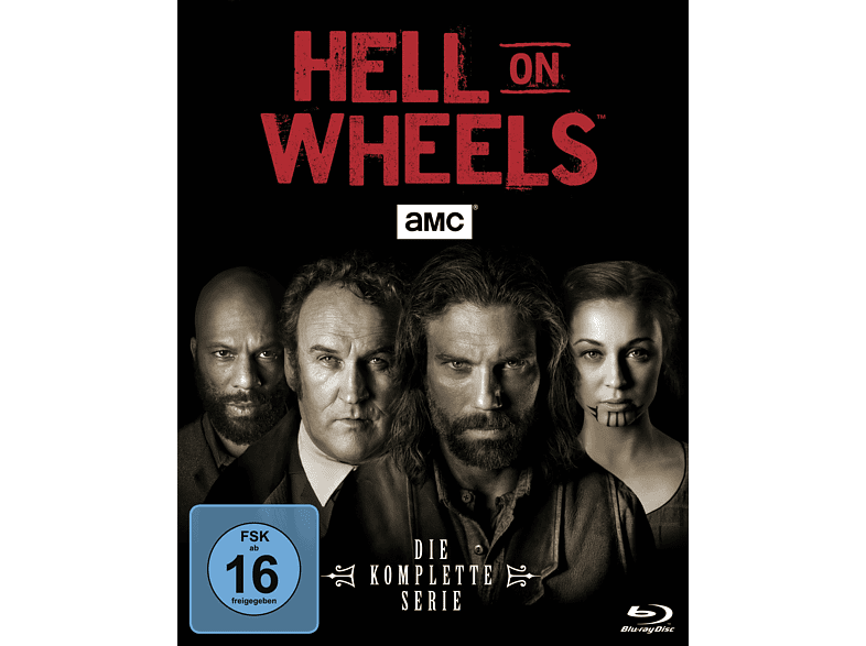HELL ON WHEELS (COMPLETE BOX) [Blu-ray]