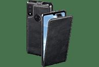 HAMA Smart Case , Flip Cover, Huawei, Y7 (2019), Echtleder (Obermaterial), Schwarz