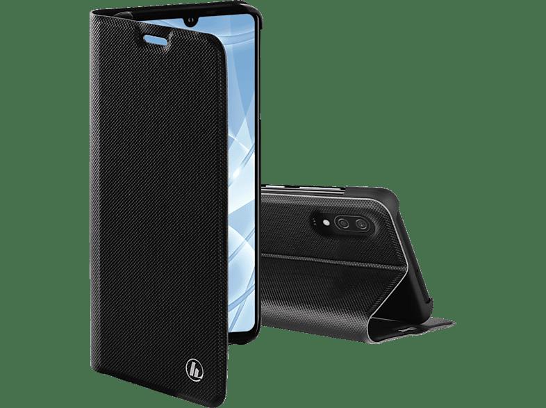 HAMA Slim Pro , Bookcover, Huawei, Y6 (2019), Polyurethan, Schwarz