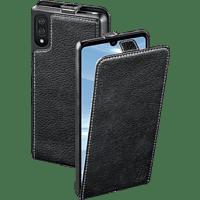 HAMA Smart Case , Flip Cover, Huawei, Y6 (2019), Echtleder (Obermaterial), Schwarz