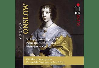 Gianluca/ensemble Concer Luisi - Streichquint.op.33 & 74,Klavier-Quint.& Sextett  - (CD)