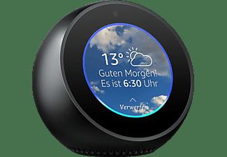 AMAZON Echo Spot Smart Speaker, Schwarz