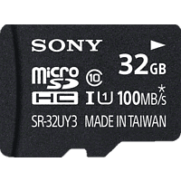 SONY microSDHC Performance 32GB Class 10 inkl SD Adapter, Micro-SDHC Speicherkarte, 32 GB, 100 MB/s