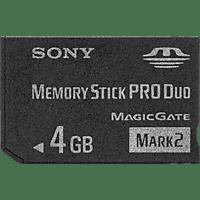 SONY Sony Memory Stick Pro Duo Mark 2 4GB Memory Stick Pro Duo, Schwarz