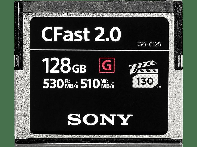 SONY CFast 2.0 128GB, Compact Flash Speicherkarte, 128 GB, 530 MB/s