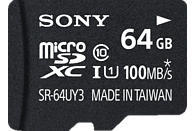 SONY microSDXC Performance 64GB Class 10 inkl SD Adapter, Micro-SDXC Speicherkarte, 64 GB, 100 MB/s