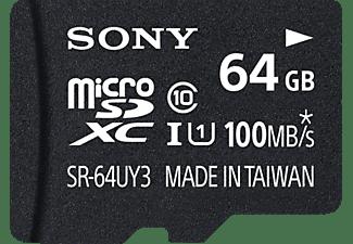 SONY microSDXC Performance Class 10 inkl SD Adapter, Micro-SDXC Speicherkarte, 64 GB, 100 MB/s