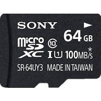 SONY microSDXC Performance 64GB Class 10 inkl SD Adapter, Micro-SDXC Speicherkarte, 64 GB, 100 MB/s