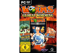Worms World Triple Pack - PC