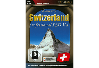 PC - Switzerland professional für Prepar3D V4 (Add-On) /D/F